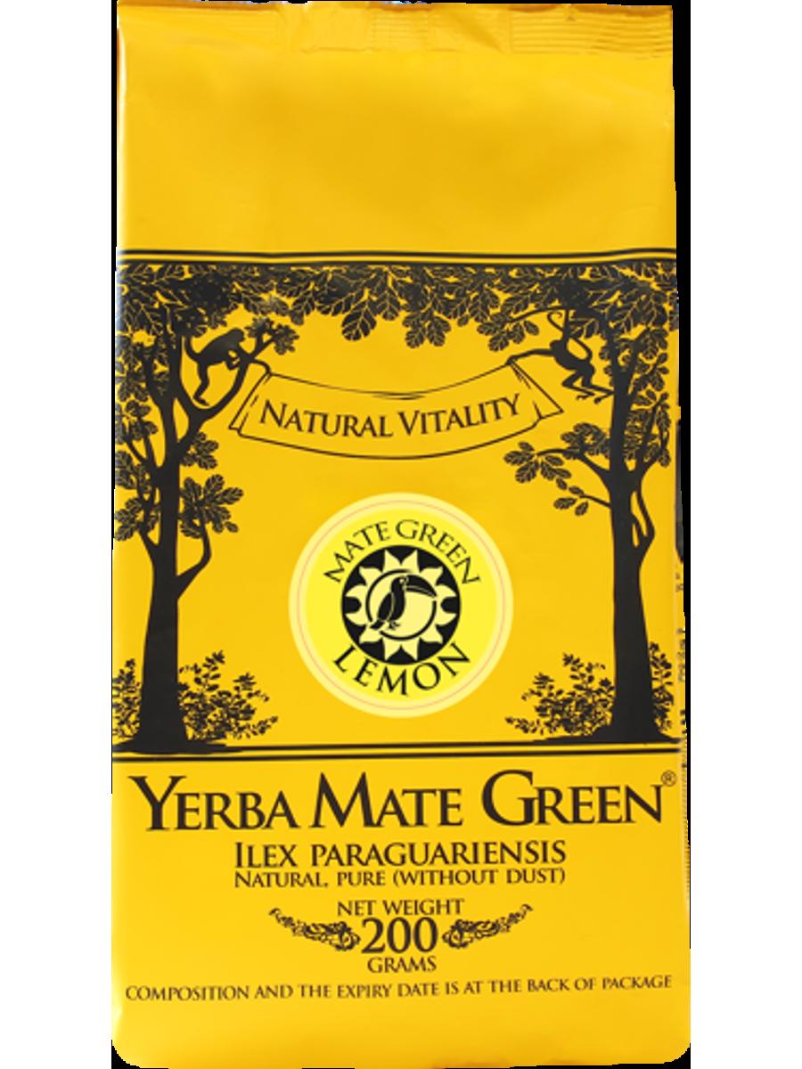 Mate Green Lemon 200г