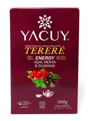 Yacuy Terere Energy Acai Mint and Guarana 500г