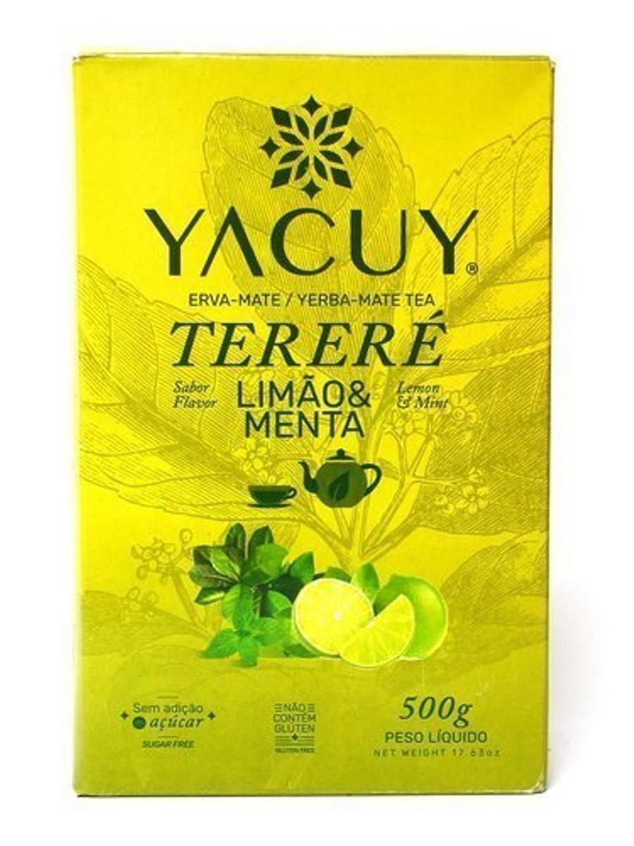 Yacuy Terere м'ята лимон 500г