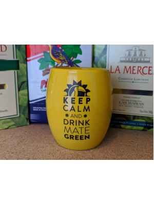 """Калабас """"Keep Calm and Drink Yerba"""""""