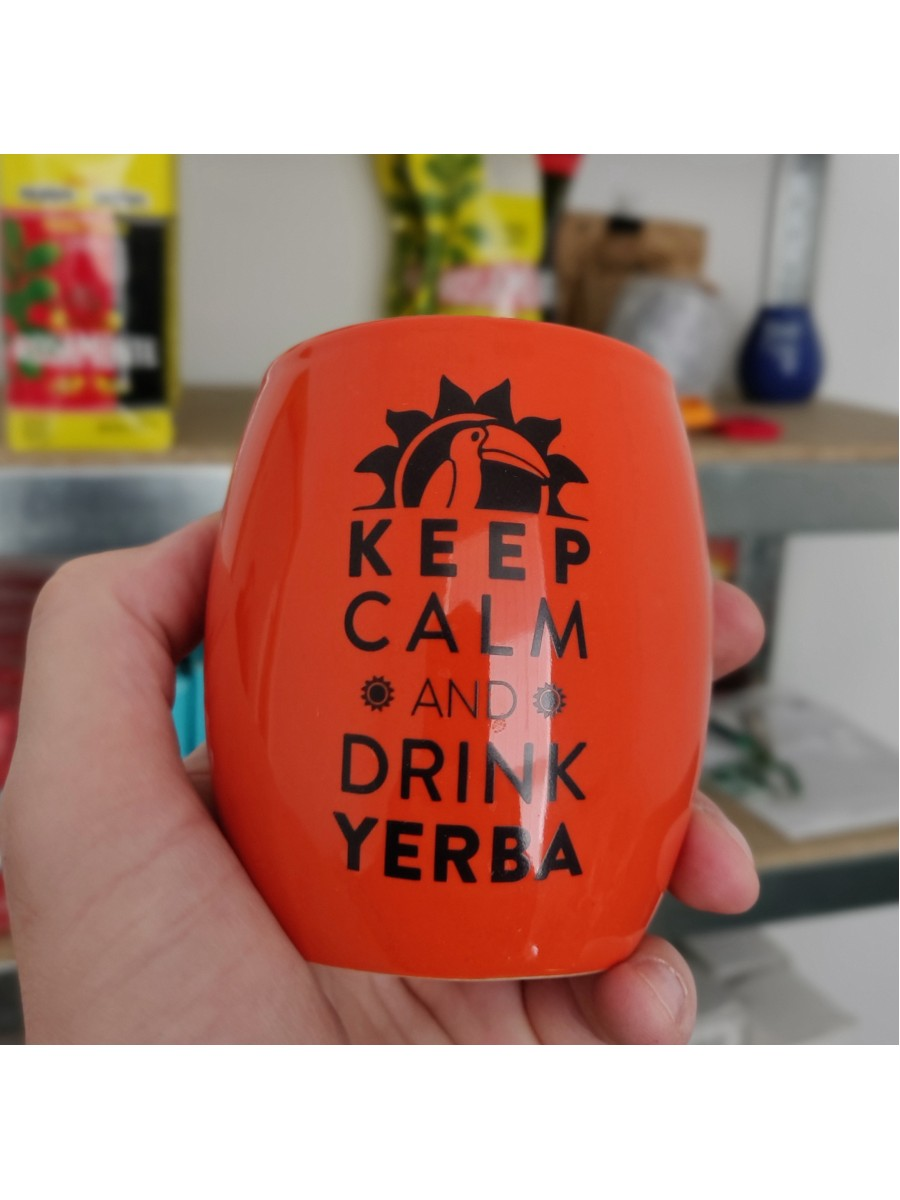 "Калабас ""Keep Calm and Drink Yerba"""
