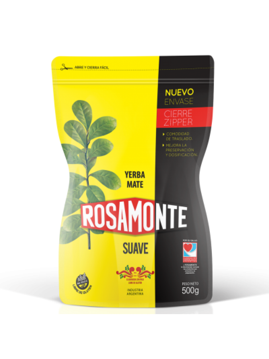 Rosamonte Suave Doypack